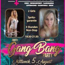 Gang Bang Party mit JUDITH & ISABELLA